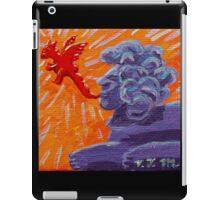 Sphinx Doood, Source of Dragons iPad Case/Skin