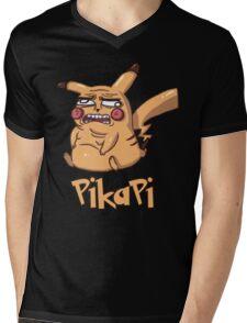 Pika Pi Mens V-Neck T-Shirt