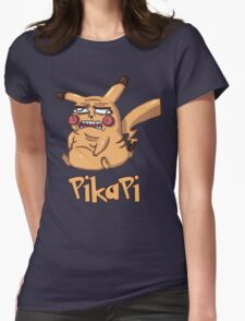 Pika Pi Womens Fitted T-Shirt