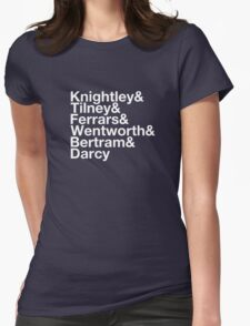 Men of Jane Austen Helvetica T-Shirt