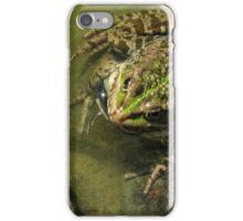 Frog / żaba iPhone Case/Skin