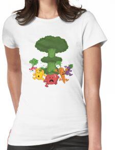 Veggiegeddon Womens Fitted T-Shirt
