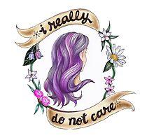 I Really Do Not Care by Jesse Knight