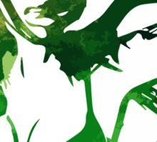 Green Girl Sticker