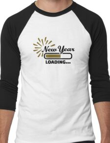 New Year loading Men's Baseball ¾ T-Shirt