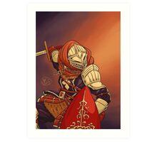 Elite Knight Art Print