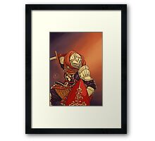Elite Knight Framed Print
