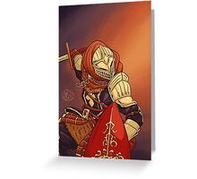 Elite Knight Greeting Card