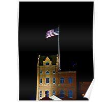 Florida Brewing Company at Night Poster