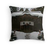 Monastery Throw Pillow