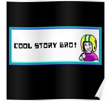 commander keen cool story bro Poster