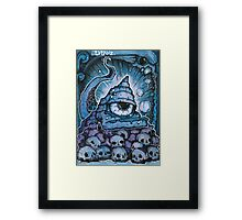 Cthonic Temple Smoke Framed Print