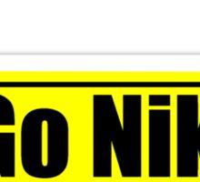 Go Nikon Sticker