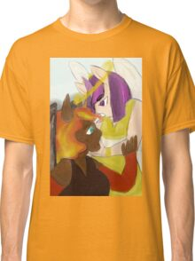 angel and devil, sun and stars Classic T-Shirt