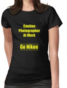 nikon Womens Fitted T-Shirt