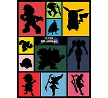 Super Smash Bros. For Wii U And 3DS: Roster Photographic Print