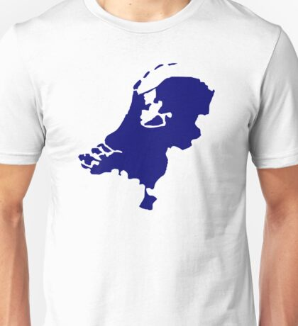 Netherlands map Unisex T-Shirt
