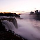 Dusk At Niagara by BigD