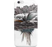 """""""artotem i"""" oil painting as a Spherical Depth Map. c iPhone Case/Skin"""