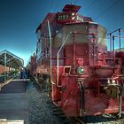 Grapevine Vintage Railroad GP-7 Diesel  by John  Kapusta