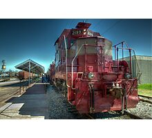 Grapevine Vintage Railroad GP-7 Diesel  Photographic Print