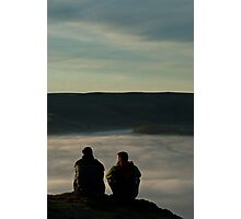 2 above the fog line Photographic Print