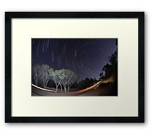 Road to No Where Framed Print