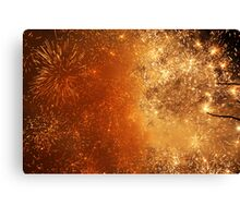 Year, New Year Canvas Print