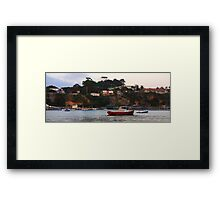 Blairgowrie to Portsea Framed Print