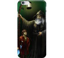 Gandalf and Bilbo iPhone Case/Skin