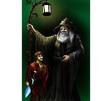 Gandalf and Bilbo Photographic Print