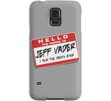 I'm Jeff Vader Pocket Location Samsung Galaxy Case/Skin