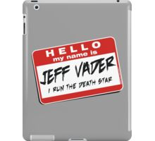 I'm Jeff Vader Pocket Location iPad Case/Skin