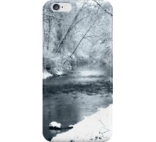 Winter Snow and Creek iPhone Case/Skin