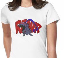 Burzerker Rawr! Womens Fitted T-Shirt