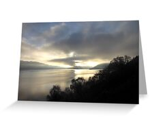 December Afternoon Loch Ness Greeting Card