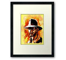 Indiana Jones! Framed Print