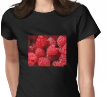 Raspberries Womens Fitted T-Shirt