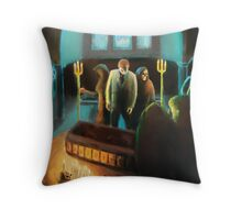 Funeral for a Fool Throw Pillow