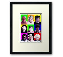 Comedy Hour Framed Print
