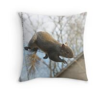 Tightrope Walker 2 Throw Pillow