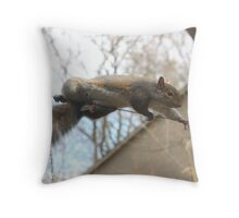 Tightrope Walker 3 Throw Pillow