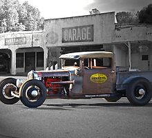 Rat Rod 'Rat's Nest' Garage by DaveKoontz