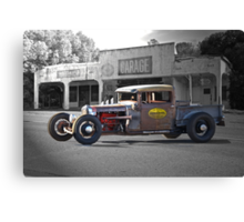 Rat Rod 'Rat's Nest' Garage Canvas Print