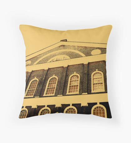 Quincy Market Throw Pillow