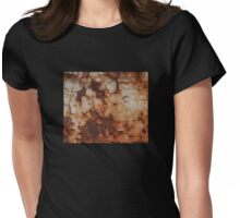 Rusted Metal Womens Fitted T-Shirt