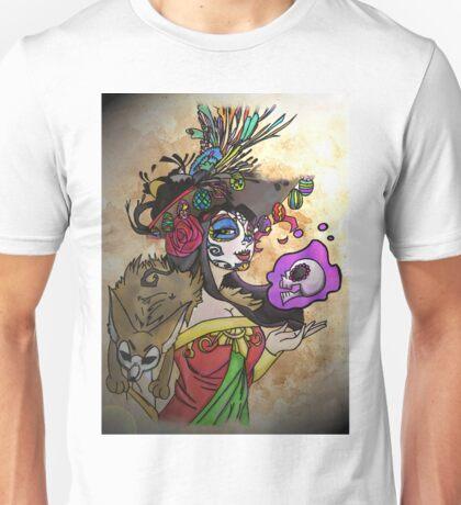Mexican Death Lady Unisex T-Shirt