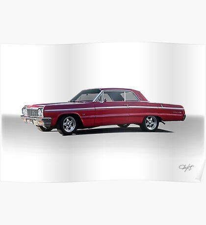 1964 Chevrolet Impala Super Sport Poster