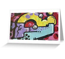 GRAFFITI BUSTERS Greeting Card