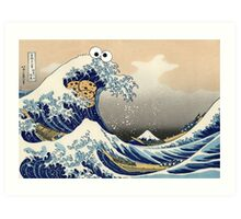 Sea is for Cookie.  Art Print
